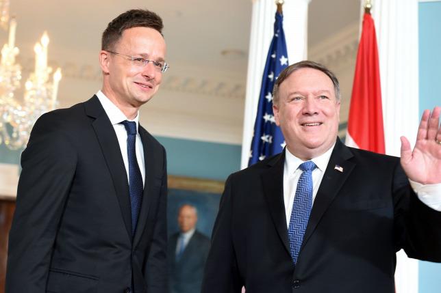 US-Außenminister Pompeo besucht Ungarn