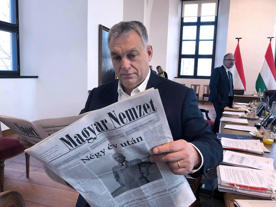 Presseschau: Magyar Idők heißt jetzt Magyar Nemzet post's picture