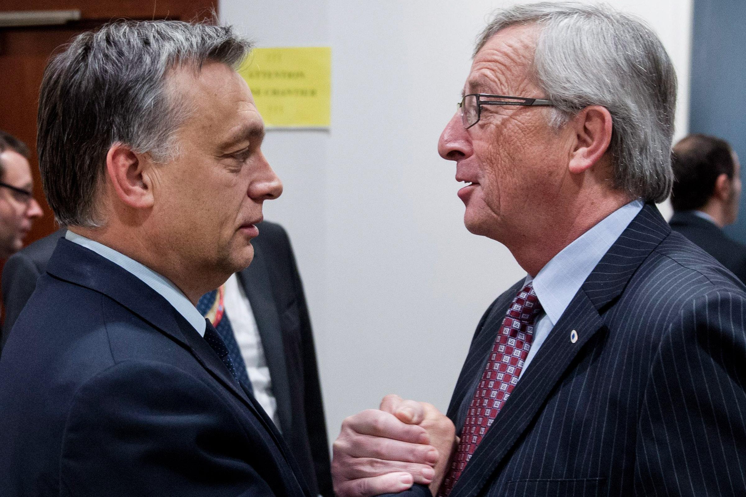 Juncker: Orbán kein europäischer Führer post's picture