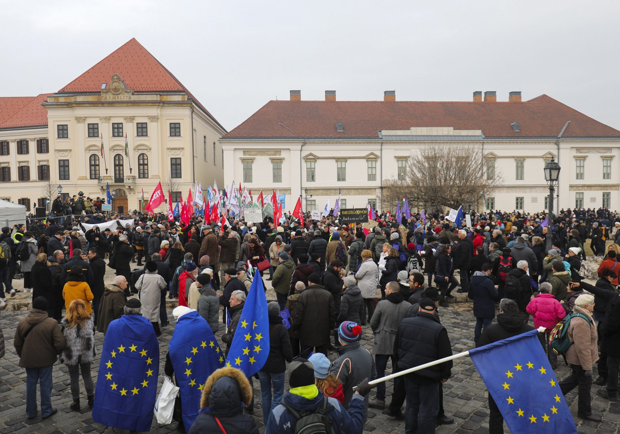 Opposition kritisiert Orbáns Rede post's picture