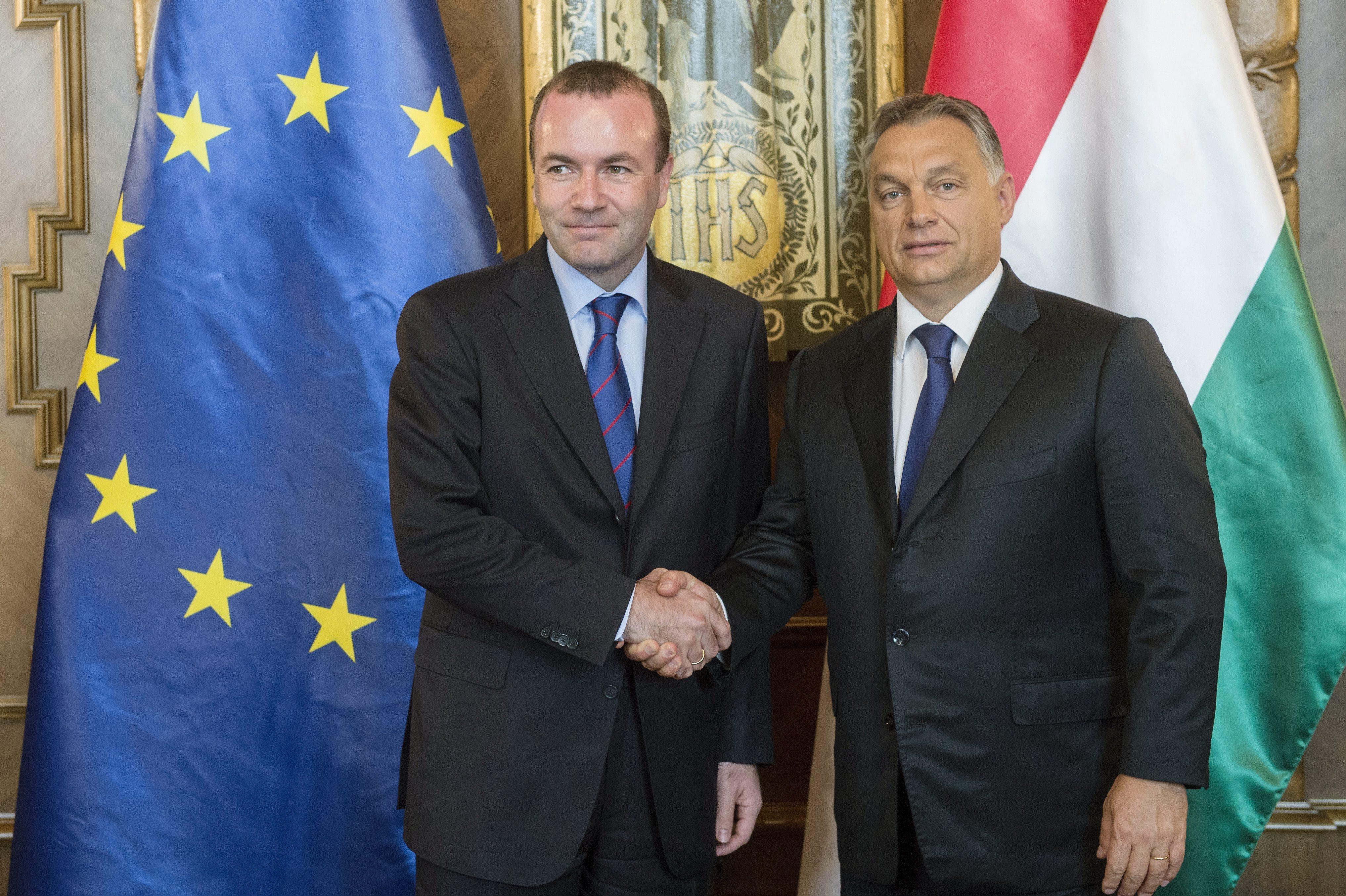 Manfred Weber kommt nach Ungarn post's picture