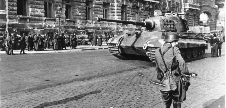 Gedenken an die Besetzung Ungarns durch Nazideutschland
