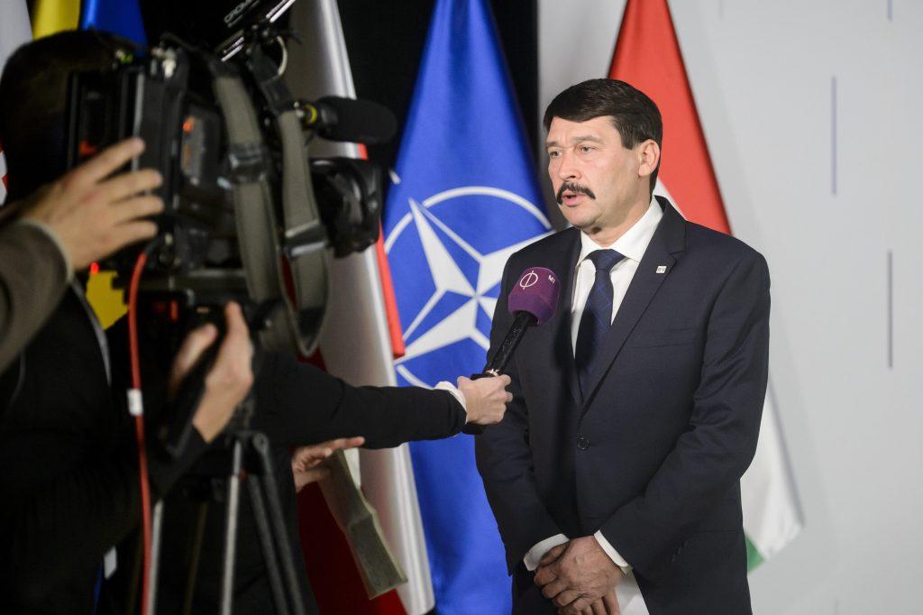 Präsident Áder: NATO steht vor neuen sicherheitspolitischen Herausforderungen post's picture