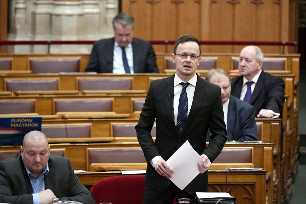Minister Szijjártó: UNO will die Migration managen, nicht stoppen post's picture