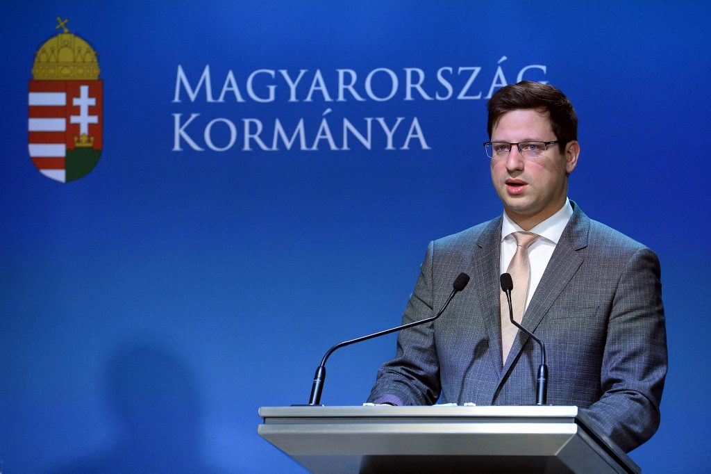 """Minister Gulyás: Fidesz wünscht sich eine starke, """"Anti-Migrations-EVP"""" post's picture"""