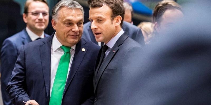 Orbán begrüßt die EU-Reforminitiative von Macron post's picture