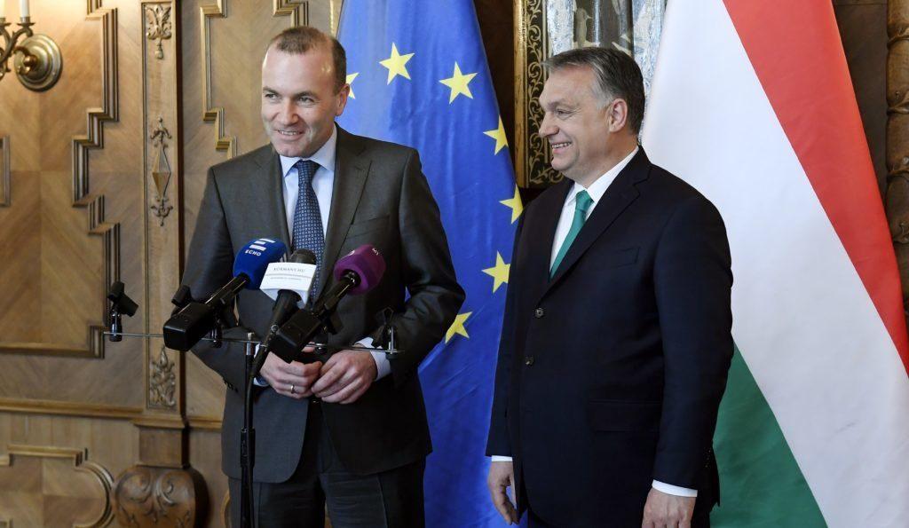 Vor EVP-Abstimmung:Weber droht Orbán erneut post's picture