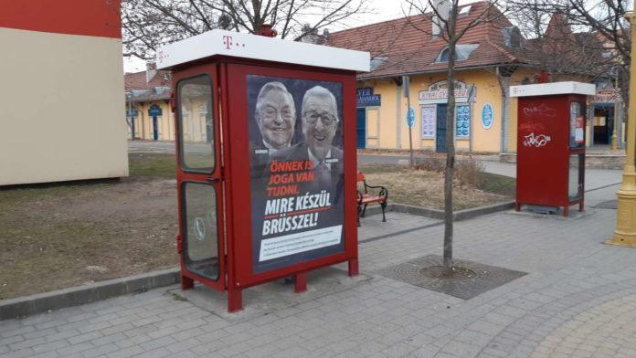 Regierung will Anti-Juncker-Plakate kommende Woche entfernen, Weber erfreut sich