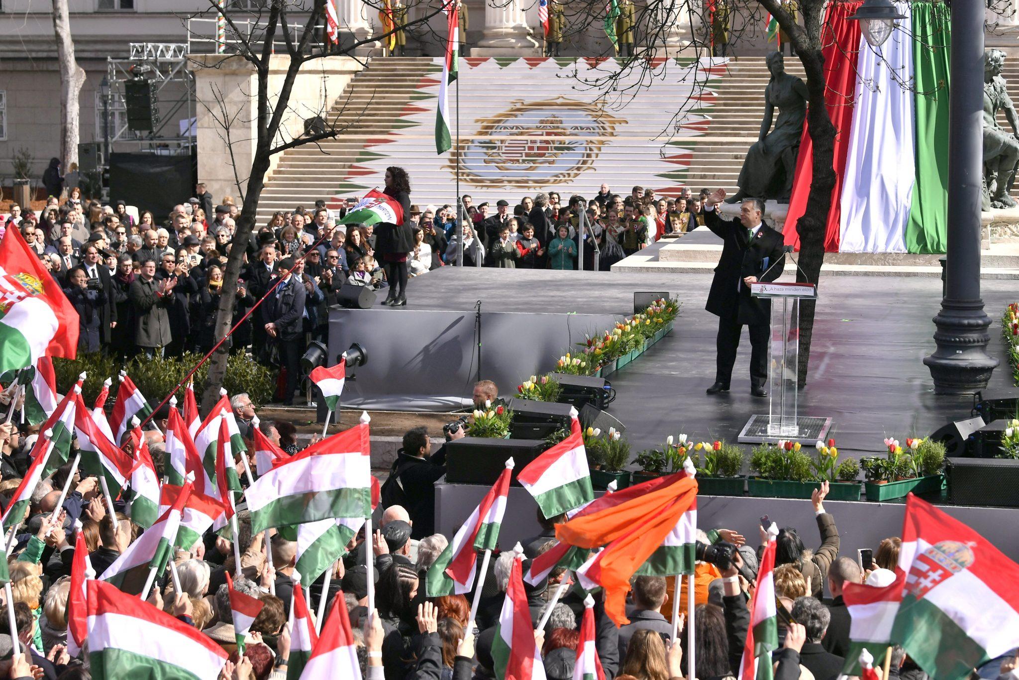 15. März: Orbán ruft zum Kampf auf, um die christliche Kultur Europas zu schützen post's picture