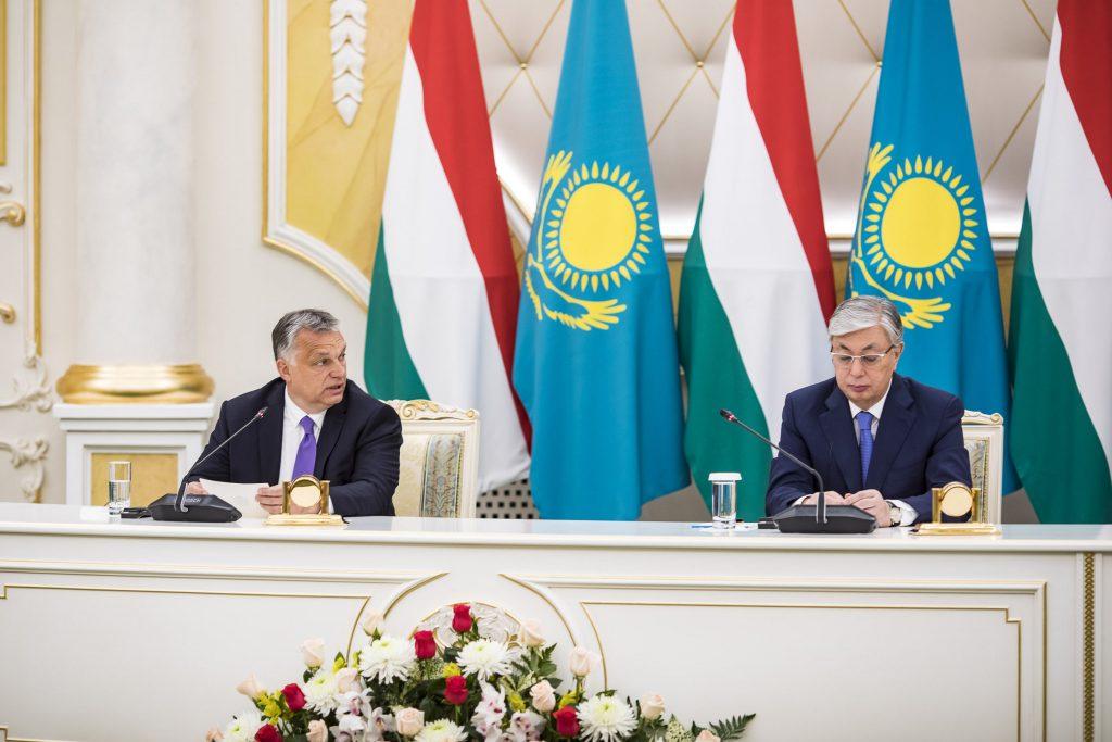 """Orbán in Kasachstan und China: """"Ungarn möchte die Beziehungen zu den östlichen Ländern stärken"""" post's picture"""