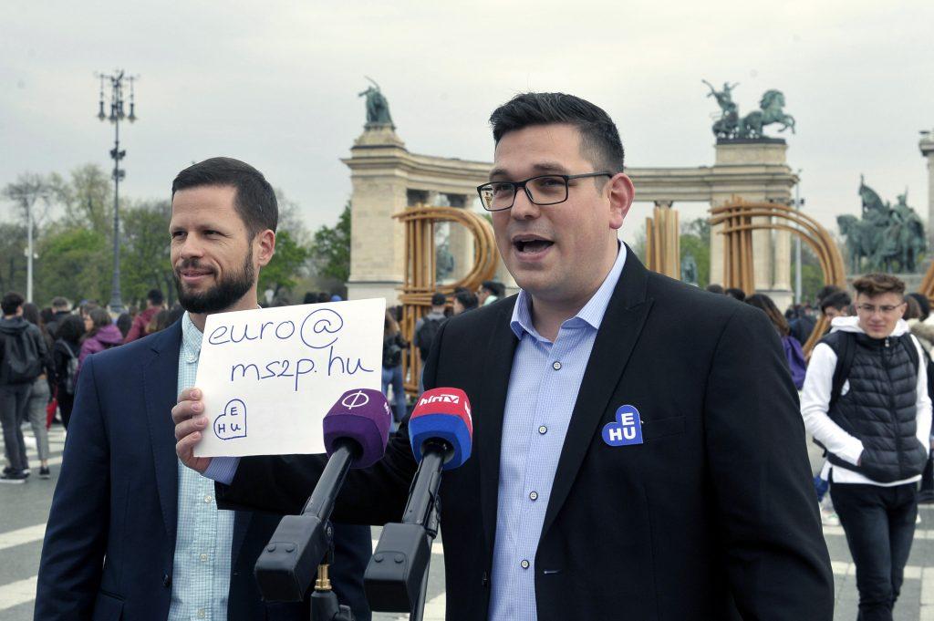 Sozialdemokratische Partei fordert die Einführung des Euro post's picture