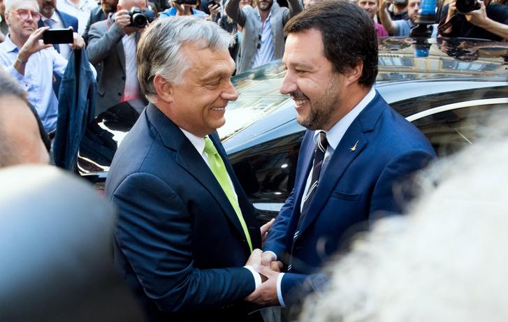 Orbán fährt nicht nach Mailand zu Salvini post's picture