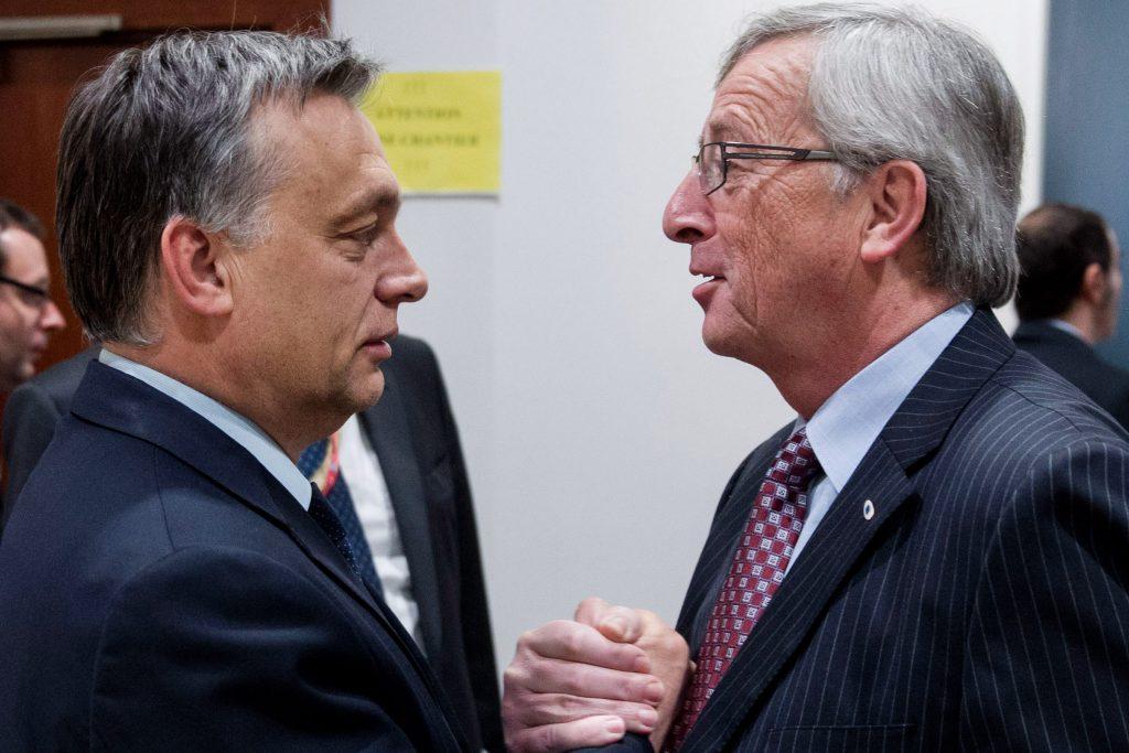 """Orbán: """"Juncker sollte uns über Fremdenfeindlichkeit nicht belehren"""" post's picture"""