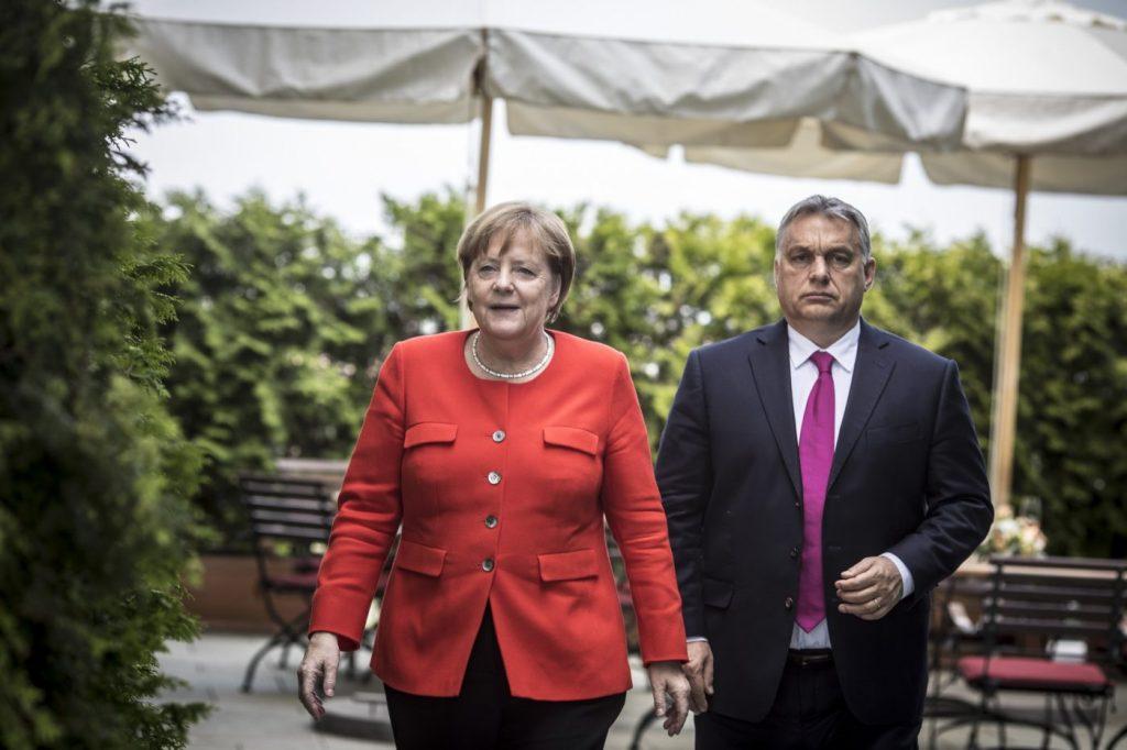 Merkels Besuch: Anerkennung für die historische Leistung Ungarns post's picture