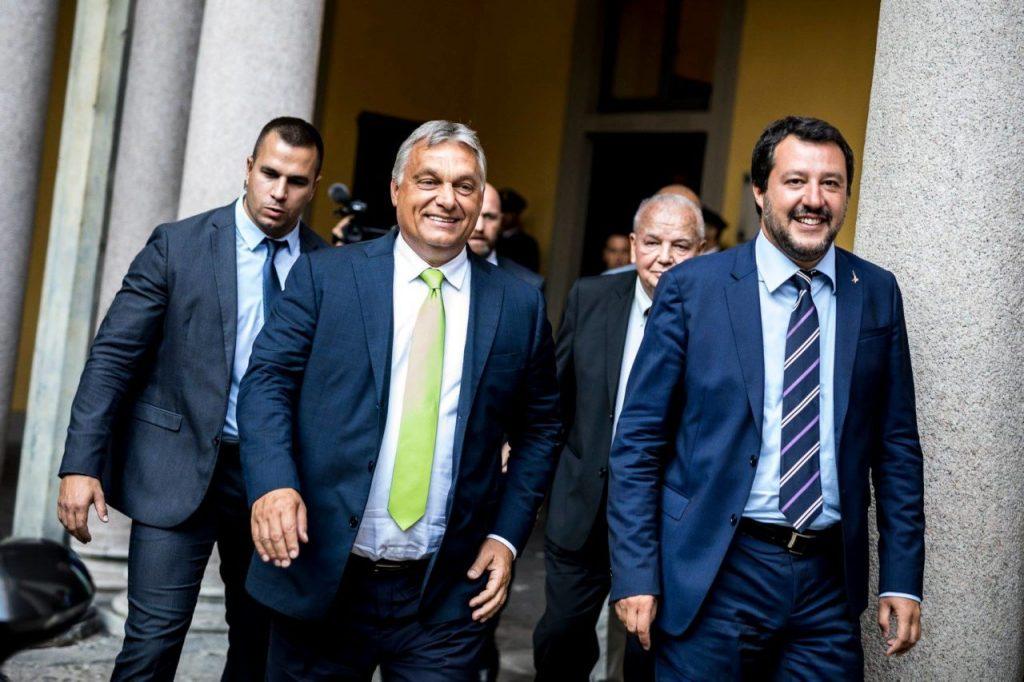 Die Presse: Ungarns Fidesz-Partei wird Teil von Salvinis Allianz?