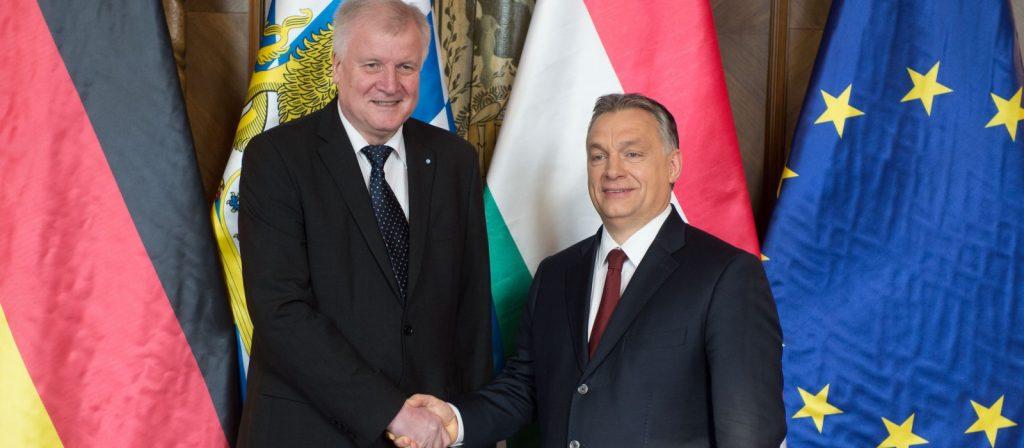 Deutscher Innenminister Seehofer nimmt Orbán in Schutz