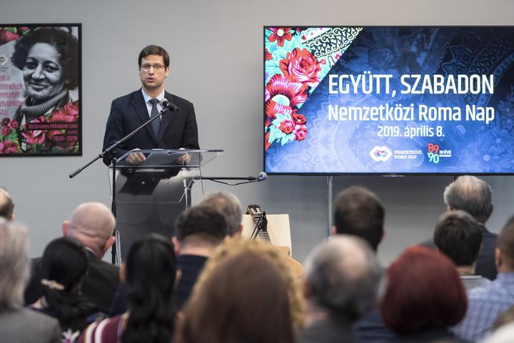 Minister Gulyás: Roma-Politik der Regierung funktioniert gut post's picture