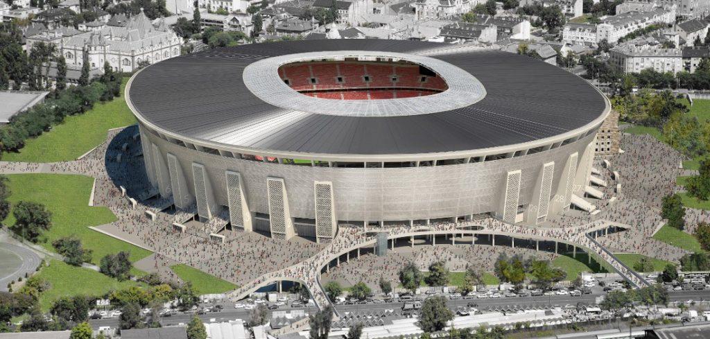 UEFA ist mit dem Bau der Puskás Aréna in Budapest zufrieden