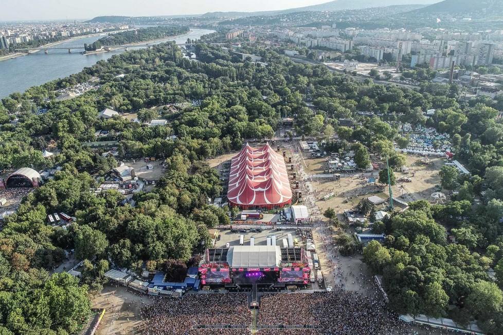 Budget des Sziget-Festivals über 10 Mrd. Forint
