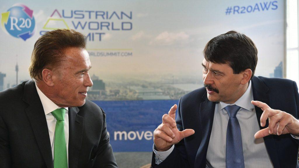 Präsident Áder: Ungarns Kampf gegen den Klimawandel hat Ergebnisse