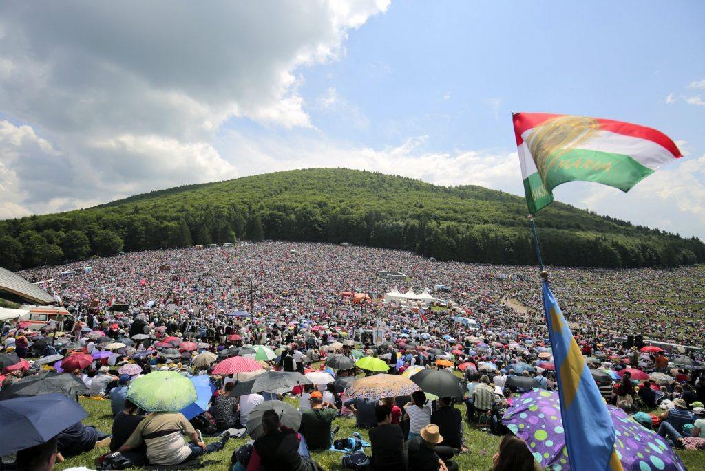 Csíksomlyó: Papstmesse ohne den ungarischen Premier post's picture