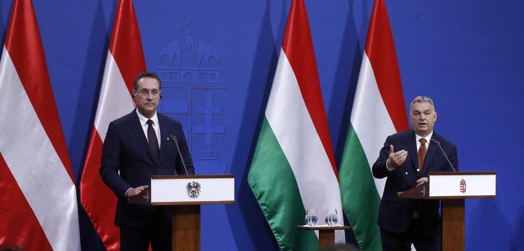 Salvini und Strache in Budapest post's picture