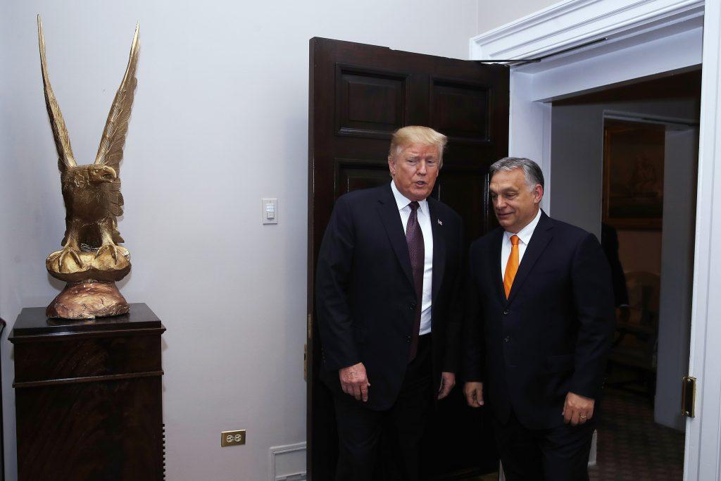 """Trump über Orbán: """"Ich hatte das Gefühl, als wären wir Zwillinge"""""""