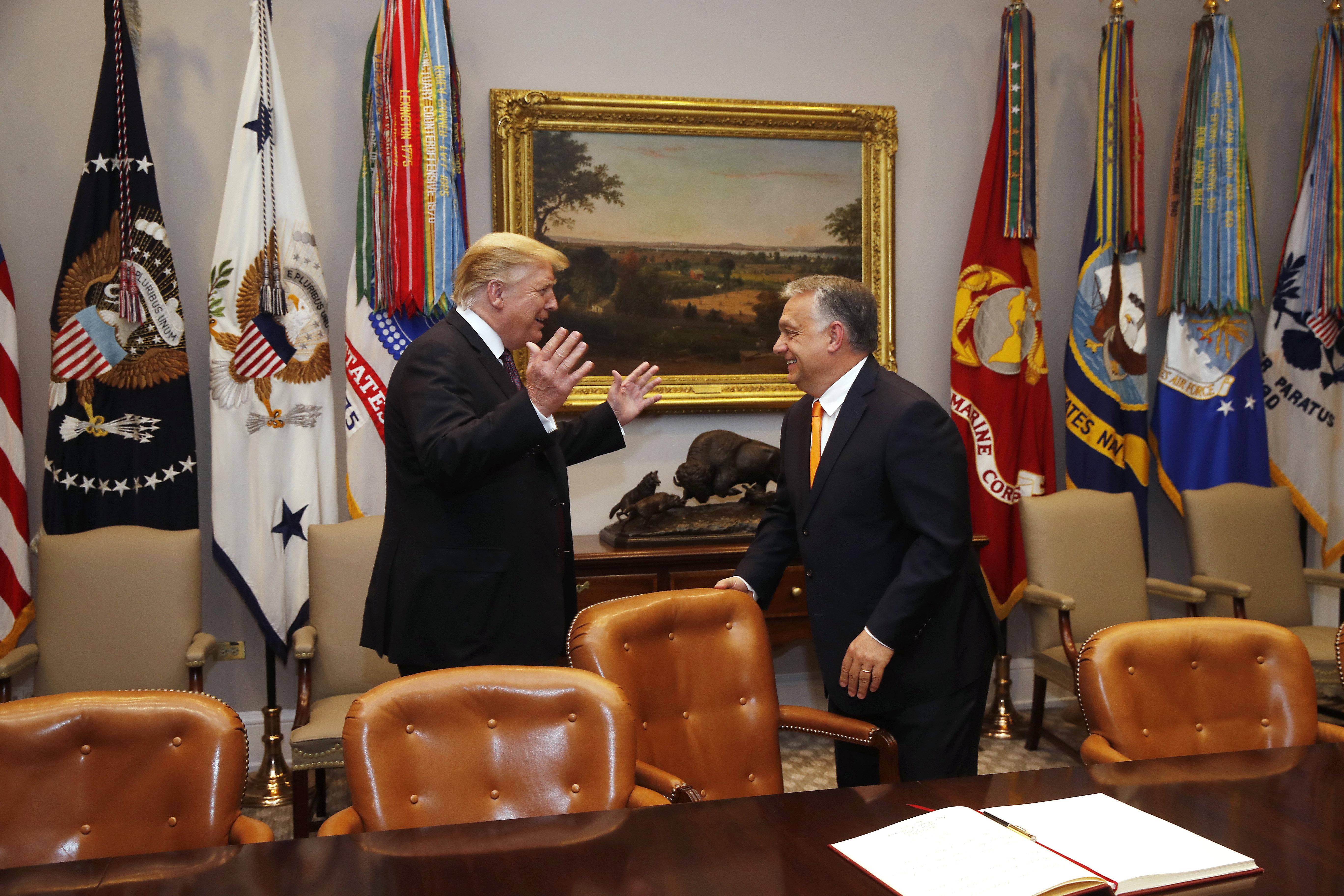 Orbán hofft, dass Trump wiedergewählt wird