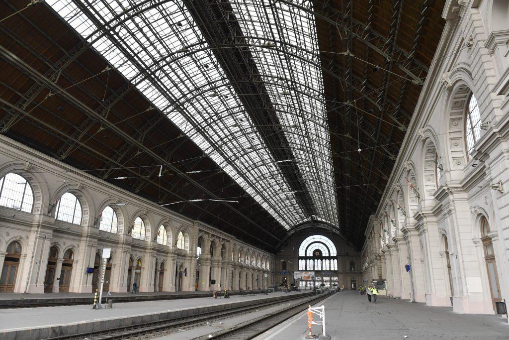Budapest-Keleti Bahnhof für 2 Wochen geschlossen