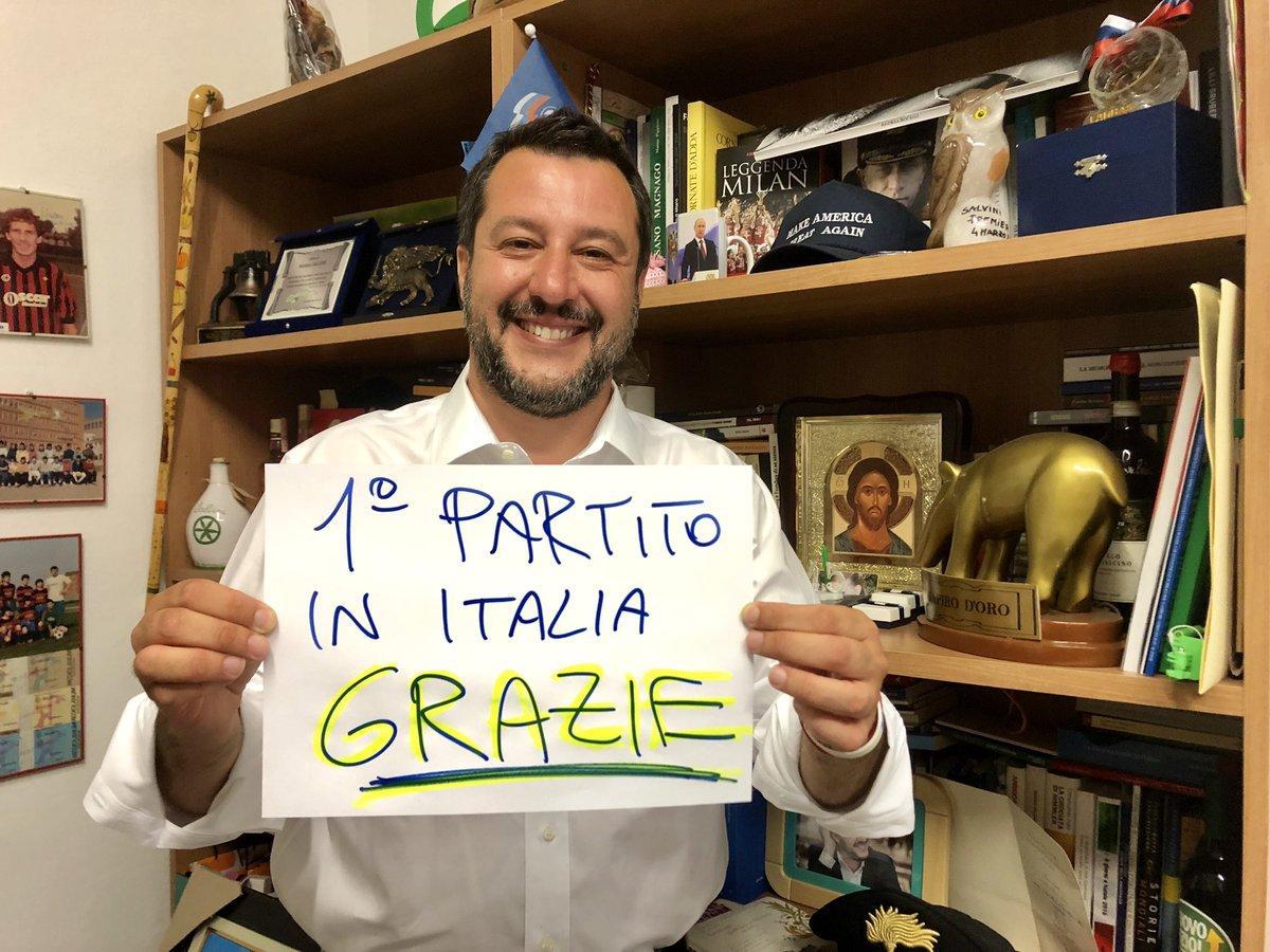 """Salvini: """"Ich will mit Orbán ein neues Europa aufbauen"""" post's picture"""