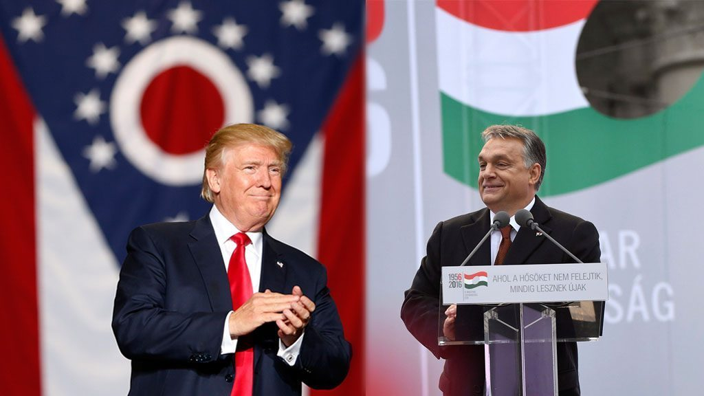 Viktor Orbán heute zu Gast bei Trump
