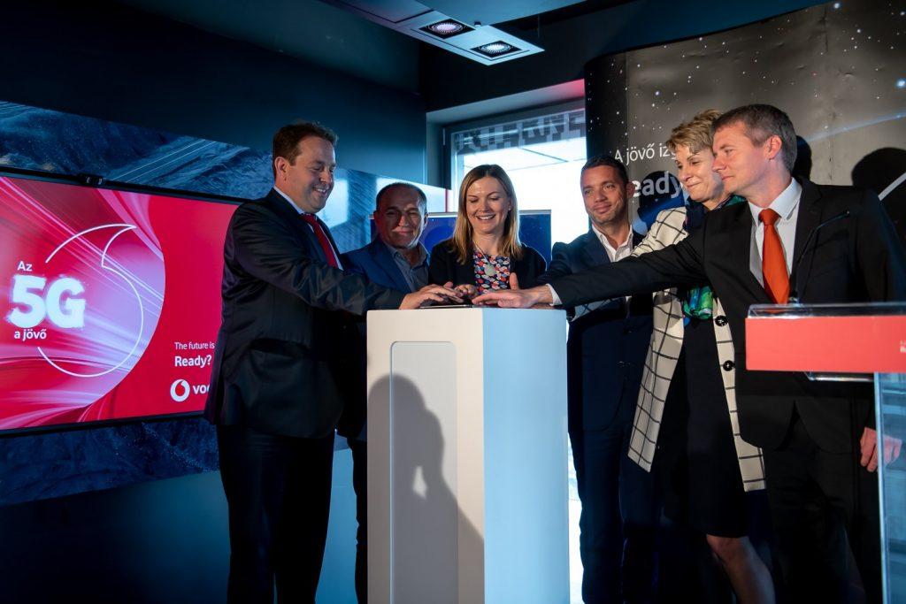 Vodafone installiert ersten 5G-Knoten in Budapest post's picture