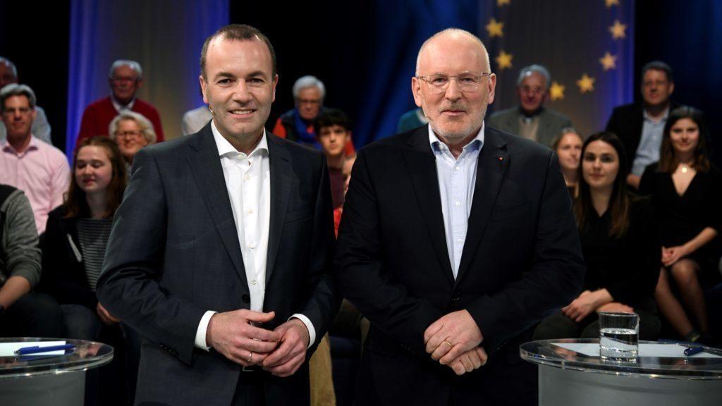 Weber-Timmermans debattiert auch über Ungarn post's picture