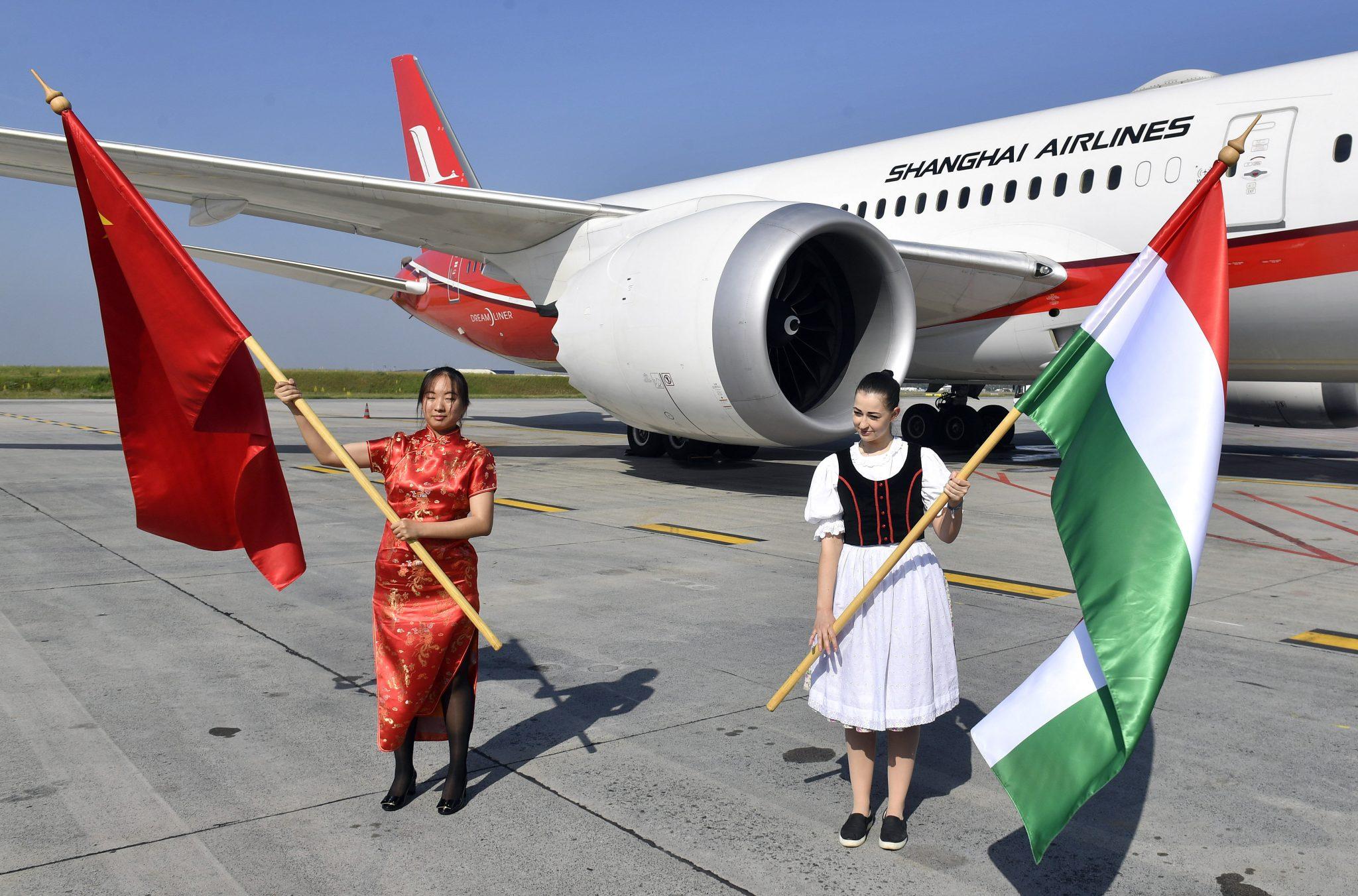 Erster Direktflug von Shanghai nach Budapest post's picture