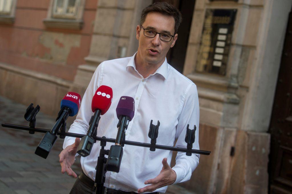 MSZP-Párbeszéd Kandidat: Fernsehdebatte mobilisiert die Budapester post's picture