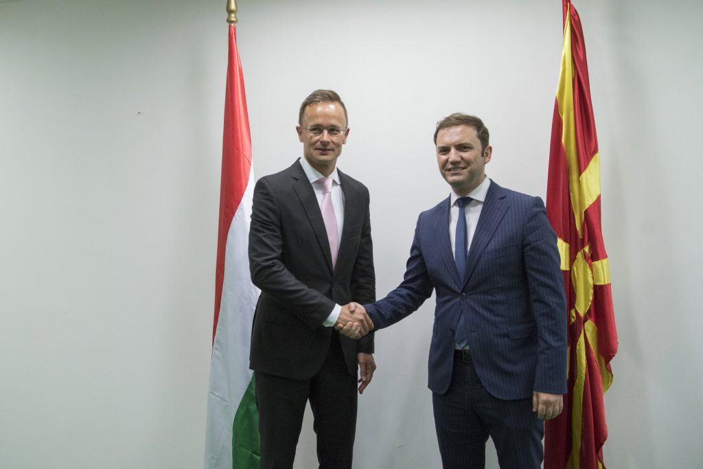 Szijjártó: Nordmakedoniens EU-Integration ist europäisches Interesse