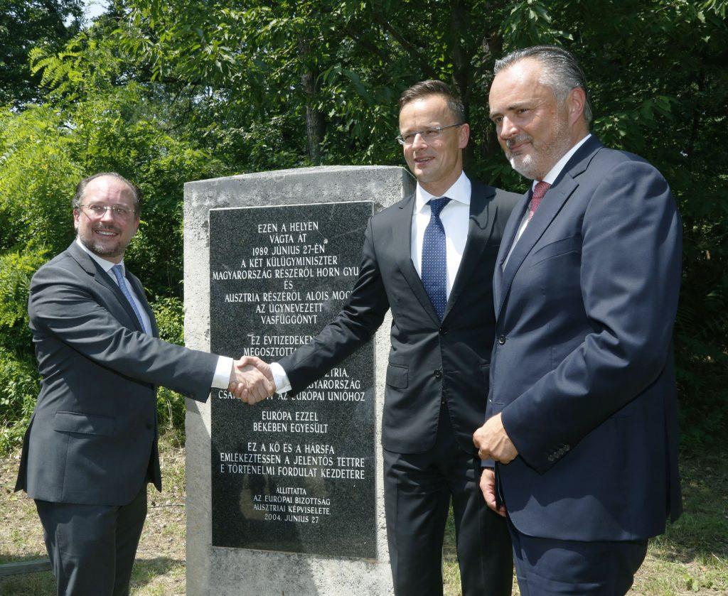 30 Jahre Fall des Eisernen Vorhangs: Gedenkfeier in Ungarn