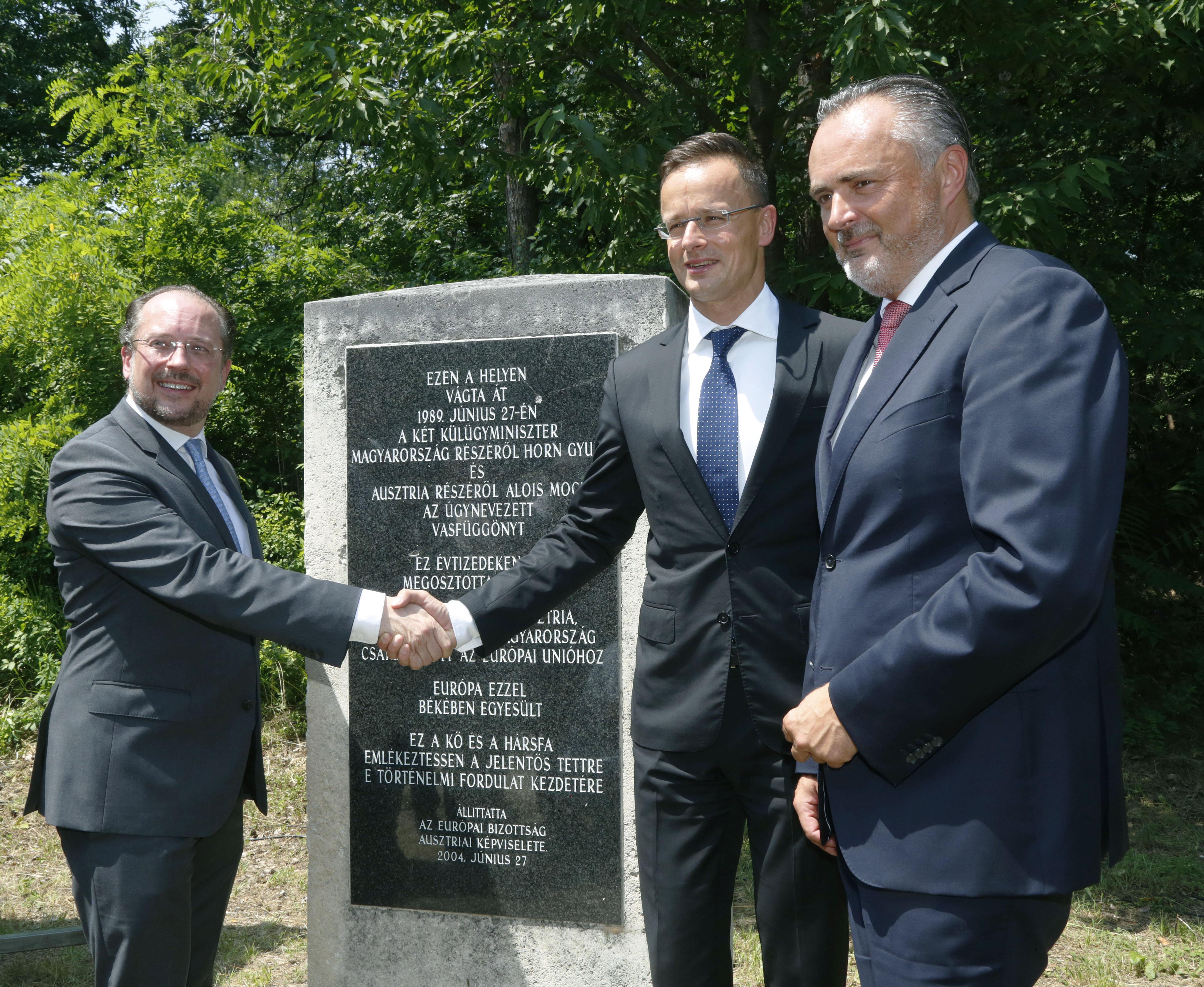 30 Jahre Fall des Eisernen Vorhangs: Gedenkfeier in Ungarn post's picture