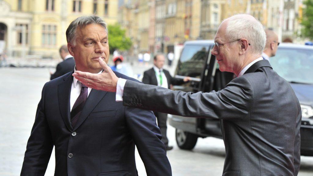 """Herman van Rompuy: """"Orbáns Antworten sind problematisch"""""""
