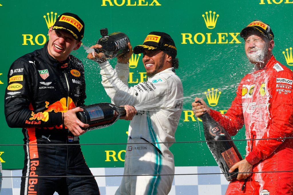 Hamilton gewinnt den Formel 1 Grand Prix von Ungarn – FOTOS!