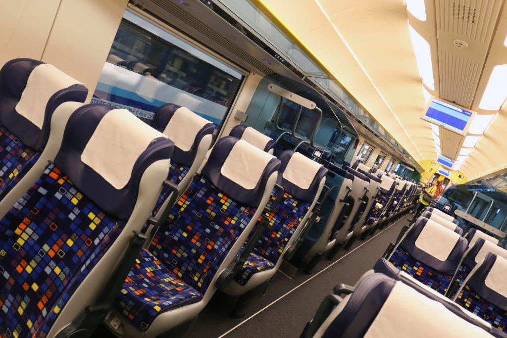 Intercity-Waggons der neuen Generation