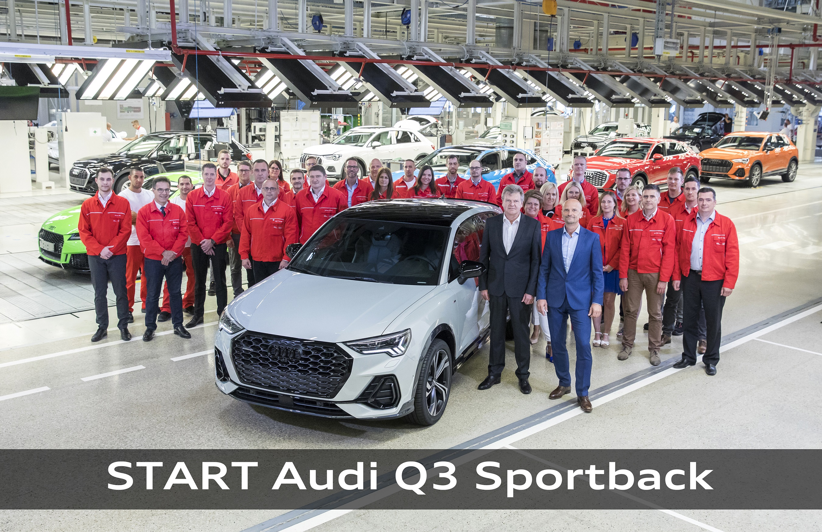 Audi Hungaria: weiteres Modell in Serienproduktion post's picture
