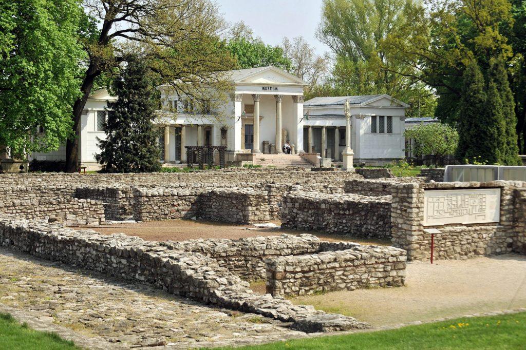 Aquincum auf Mobile App Shortlist der antiken römischen Stätten
