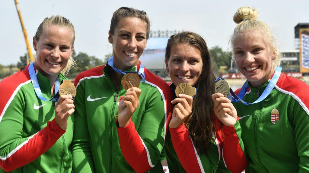 Kanu-WM in Szeged: 5 Goldmedaillen, 12 Medaillen und 12 olympische Quoten