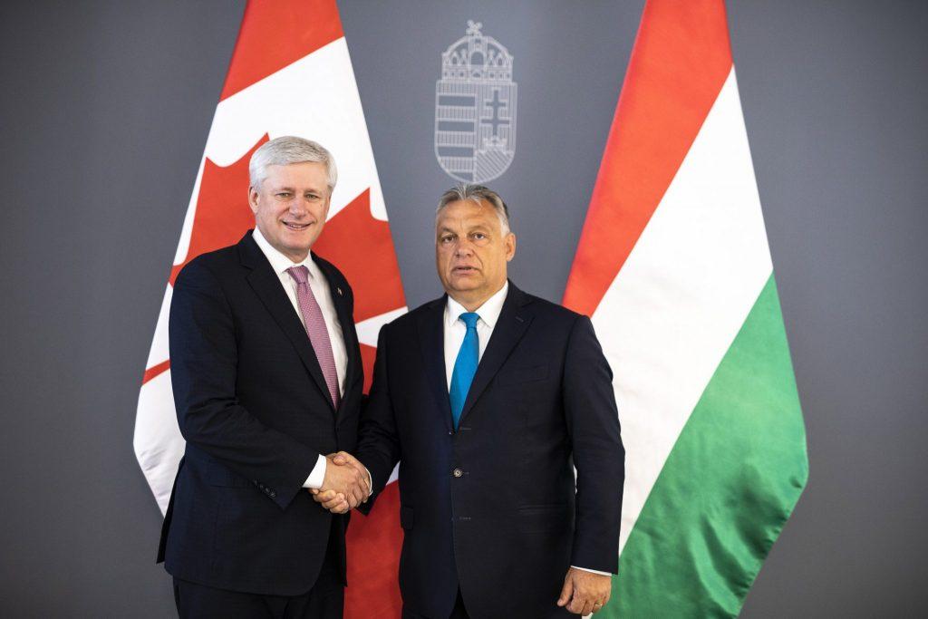 Orbán trifft ehemaligen kanadischen Premierminister post's picture