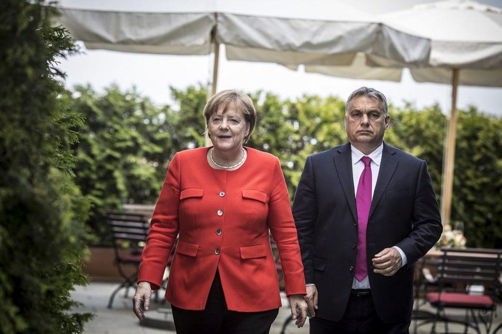 Paneuropäisches Picknick 30! Orbán und Merkel feiern gemeinsam