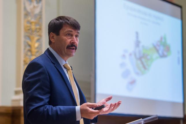 Präsident Áder : Ungarn könnte bis 2050 Klimaneutralität erreichen post's picture