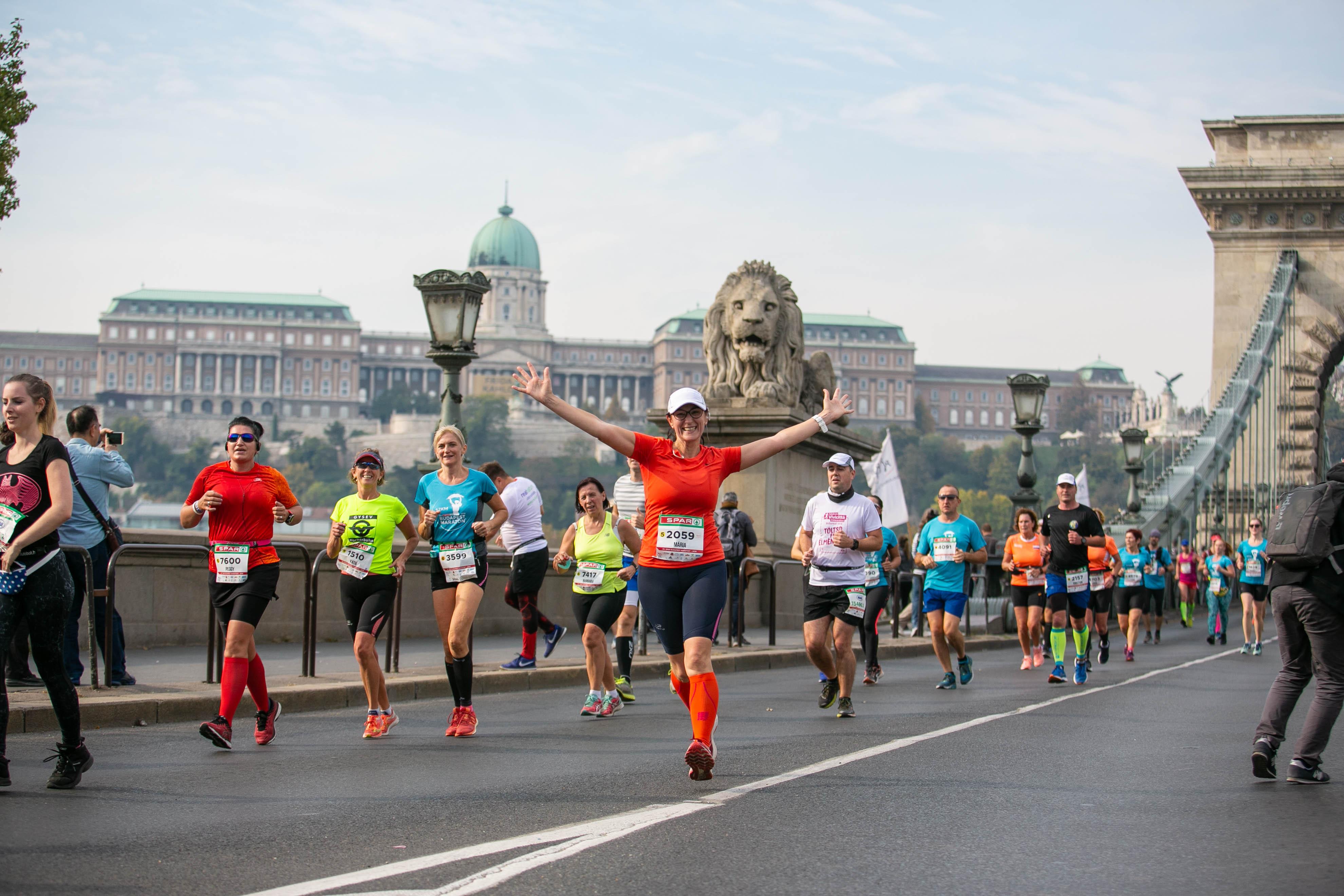 34. SPAR Budapest Marathon, BALD! post's picture