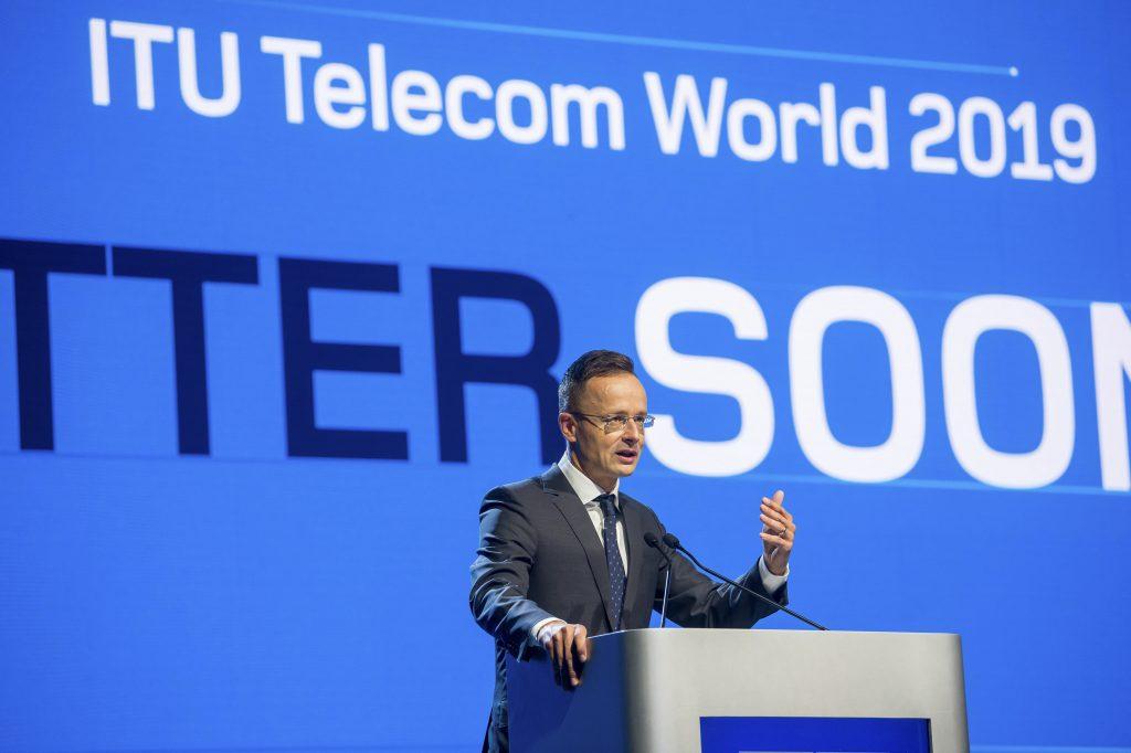 Außenminister Szijjártó: ITU Telecom Weltkonferenz war ein Erfolg