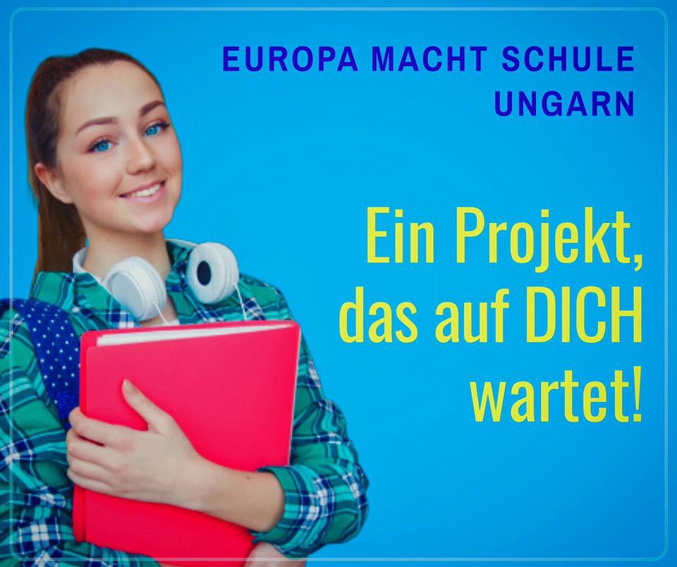 """Willst du nach Ungarn? """"Europa macht Schule"""" sucht deutsche Studenten!"""